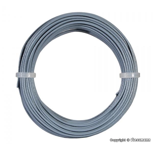 Kabelring 0,14 mm², grau, 10 m