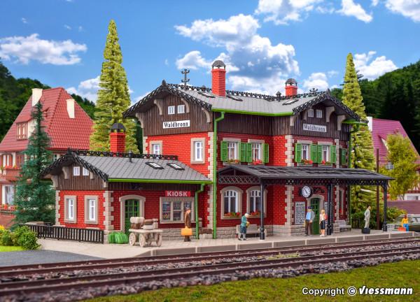 H0 Bahnhof Waldbronn