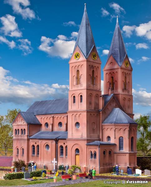 H0 Romanische Stadtkirche in Jakobwüllesheim