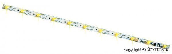 H0 Waggon-Innenbeleuchtung, 11 LEDs gelb