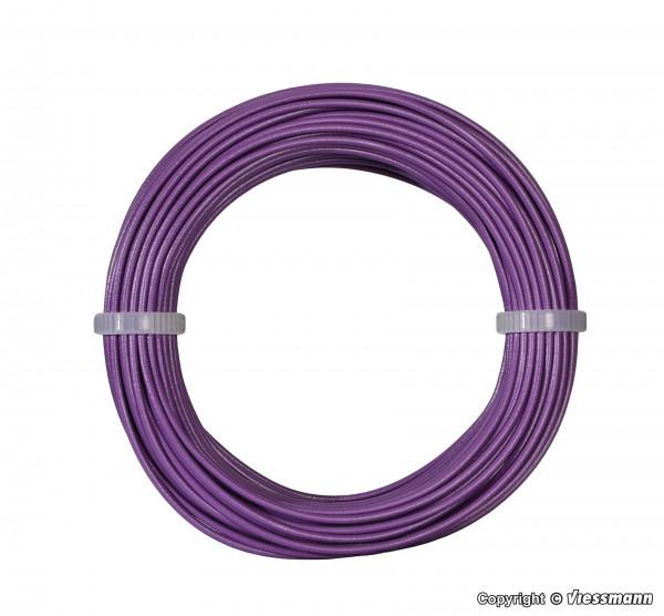 Kabelring 0,14 mm², lila, 10 m