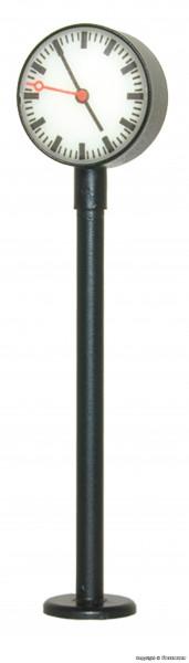 TT Beleuchtete Bahnsteiguhr, LED weiß