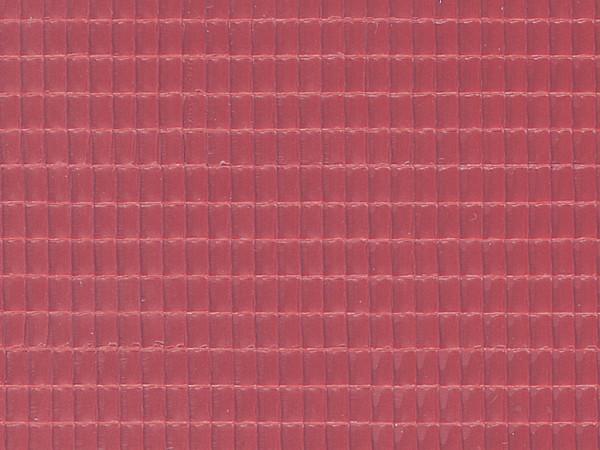 H0 Dachplatte Flachdachpfanne aus Kunststoff,