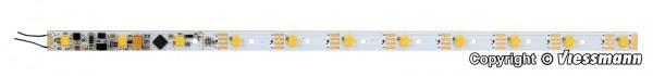 H0 Waggon-Innenbeleuchtung, 11 LEDs gelb,