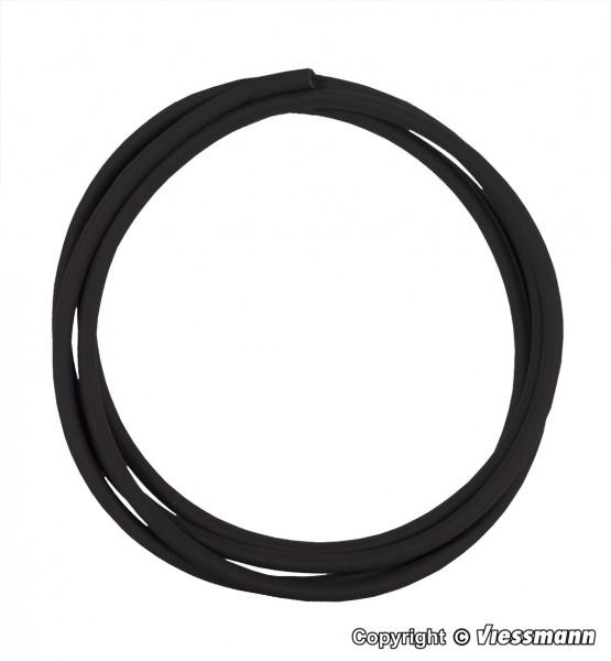 Schrumpfschlauch schwarz, 40 cm, Innendurchmesser
