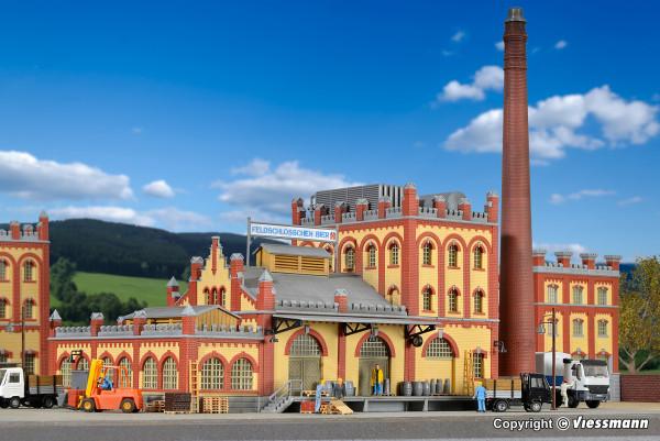 H0 Kühlhaus und Anlieferung Brauerei
