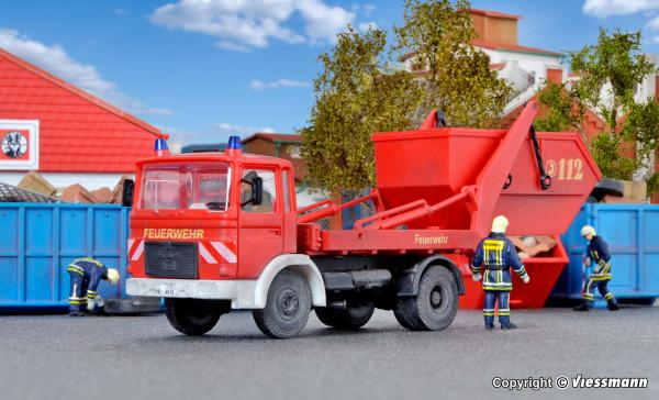 H0 Feuerwehr MAN 2-achs Absetzkipper