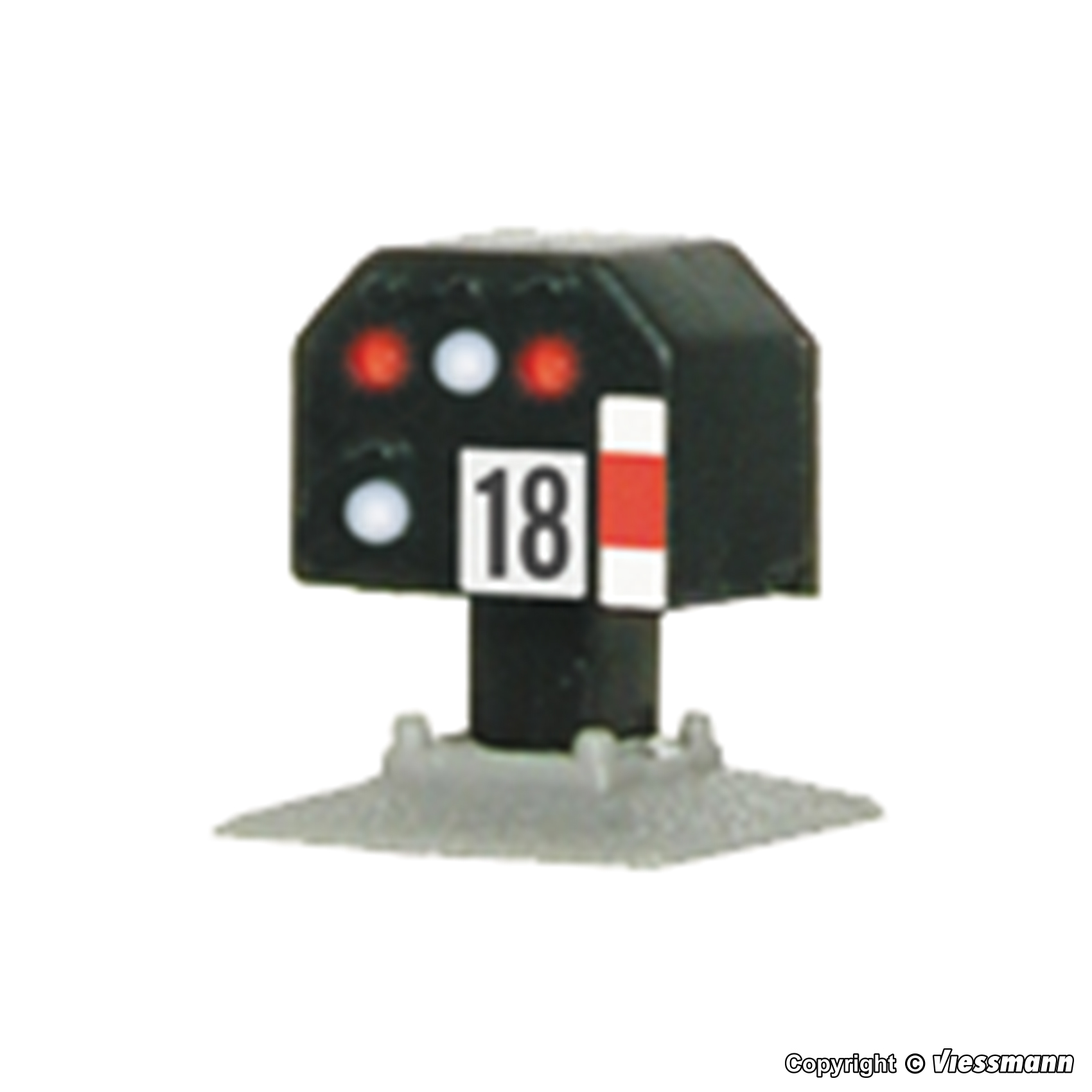 /N Light Blocking Signal Viessmann 4418/ Low