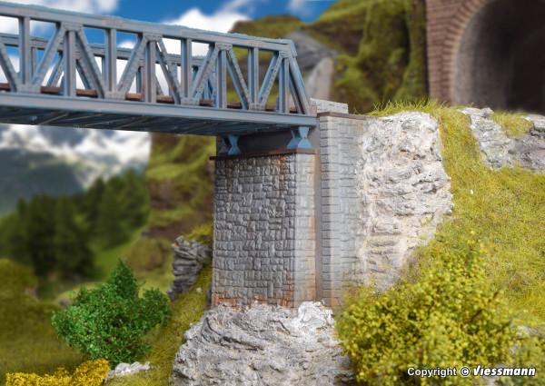 N Brückenkopf-Garnitur, zweiteilig