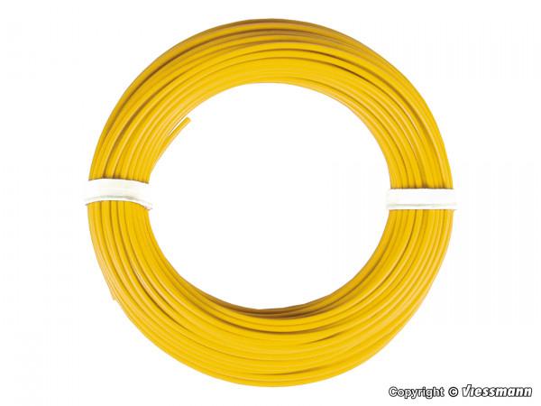 Kabelring 0,14 mm², gelb, 10 m