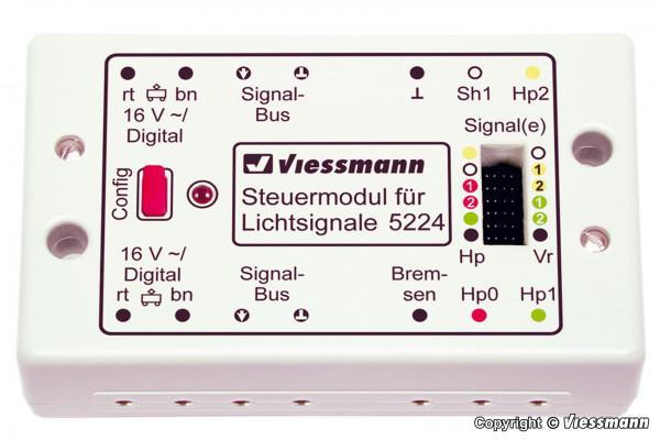 Steuermodul für Lichtsignale digital/analog