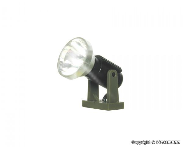 0 Flutlichtstrahler nieder, LED weiß