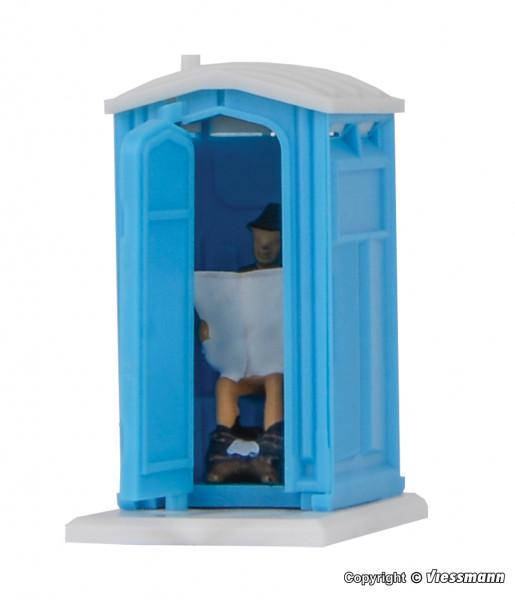 H0 Baustellen-Toilette, bewegt