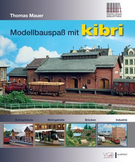 "Buch ""Modellbauspaß mit kibri"""