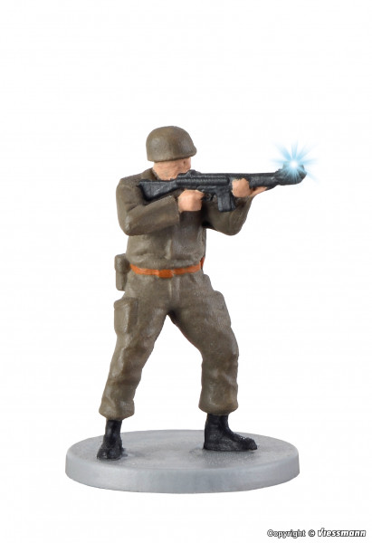H0 Soldat, stehend