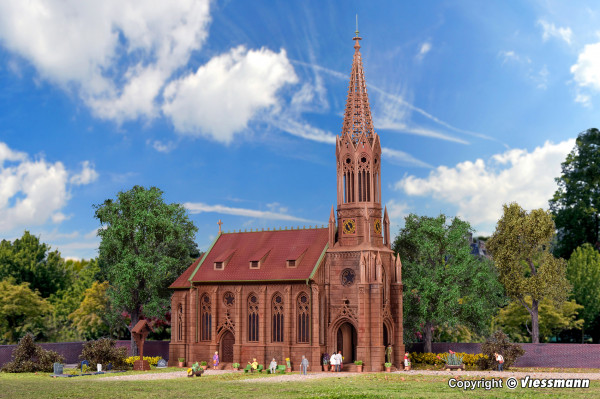 H0 Stadtkirche Stuttgart-Berg