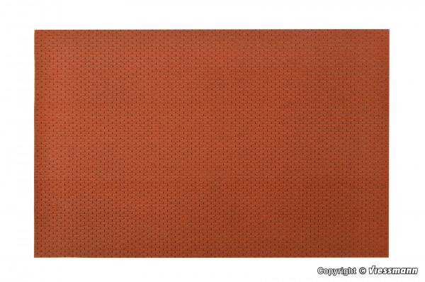 G Mauerplatte Ziegel aus Steinkunst,