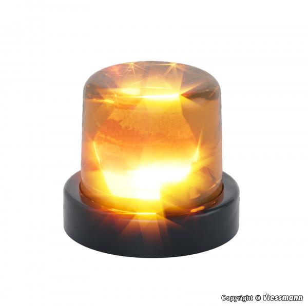 H0 Rundumleuchte mit gelber LED