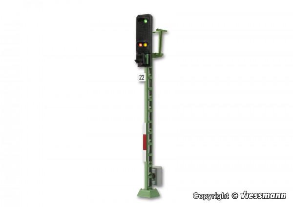 H0 Licht-Einfahrsignal mit Multiplex-Technologie