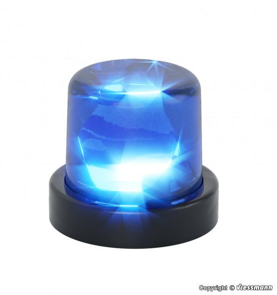 H0 Rundumleuchte mit blauer LED