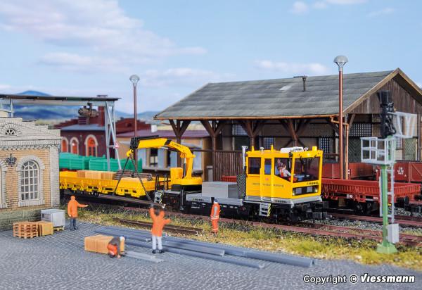 H0 ROBEL Gleiskraftwagen 54.22 DB Netz mit
