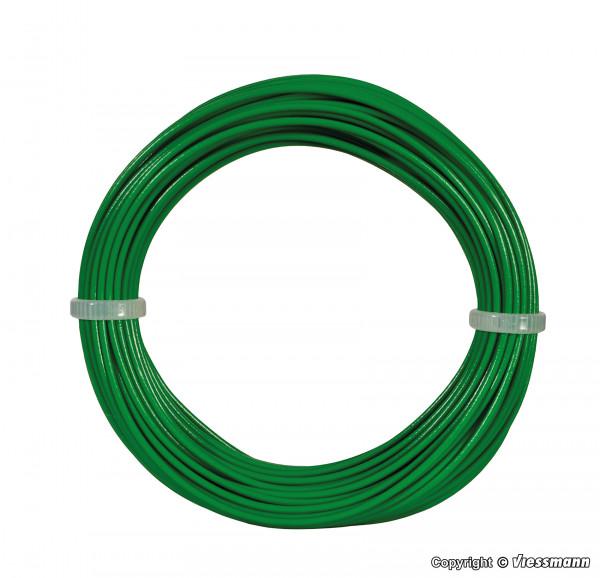 Kabelring 0,14 mm², grün, 10 m