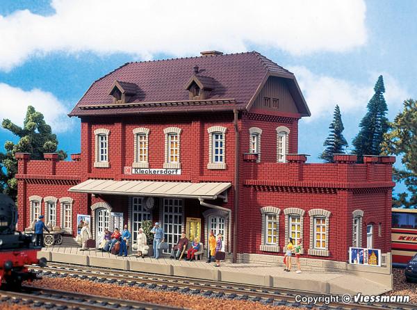 H0 Bahnhof Kleckersdorf