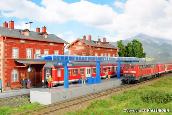 H0 Moderner Bahnsteig für C-Gleis
