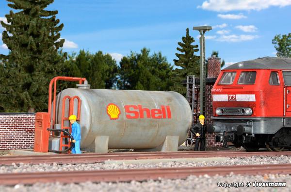 H0 Dieseltankstelle