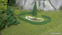 Hedge L 50 x W 0,7 x H 1,4 cm, 2 pieces