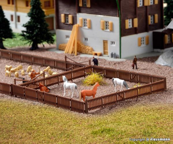Z Zaun mit Toren