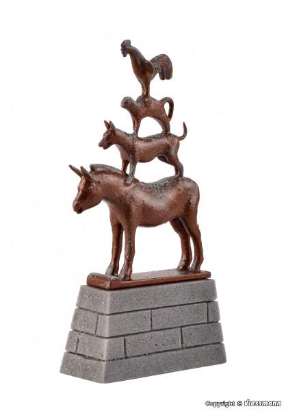 H0 Bremer Stadtmusikanten Statue