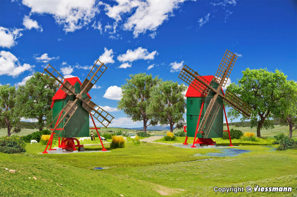 N Windmühle, 2 Stück