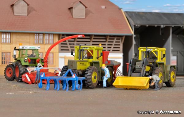 H0 Landwirtschaftliches Geräte-Set