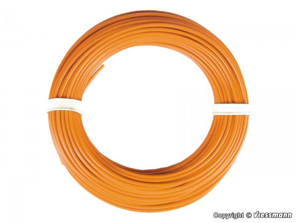 Kabelring 0,14 mm², orange, 10 m