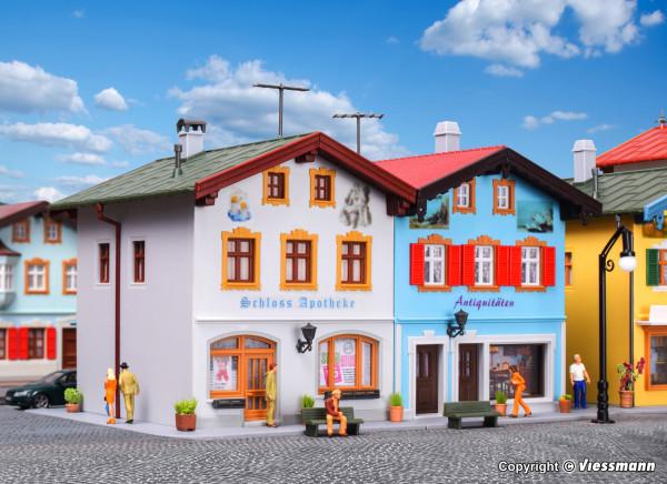 H0 Schlossapotheke und Antiquitäten in Tölz