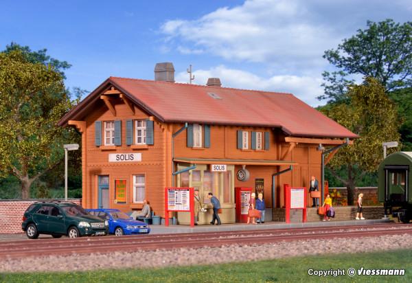H0 Bahnhof Solis