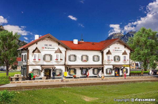 H0 Bahnhof Burghausen