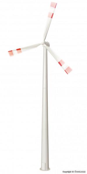 H0 Windrad mit drehenden Flügeln