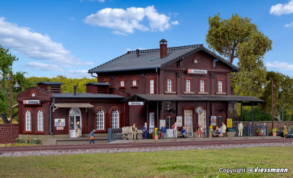 H0 Bahnhof Altenburg