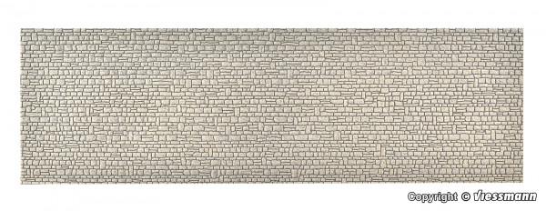 0 Mauerplatte Haustein aus Steinkunst,