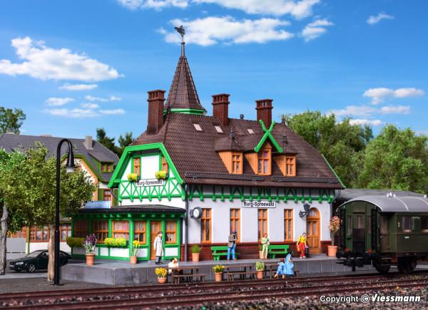 H0 Bahnhof Burg im Spreewald
