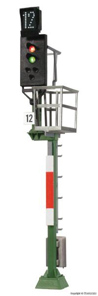 H0 Ks-Hauptsignal als Einfahrsignal mit Multiplex-
