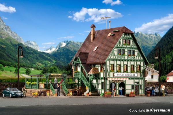 H0 Gasthof mit Metzgerei, Inneneinrichtung und