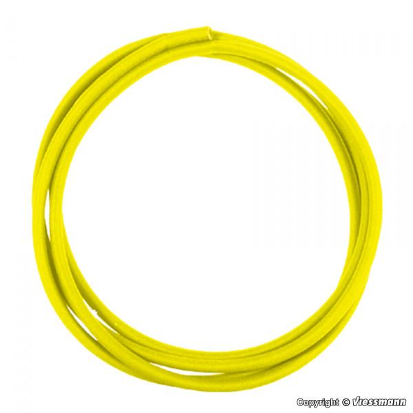 Schrumpfschlauch gelb, 40 cm, Innendurchmesser