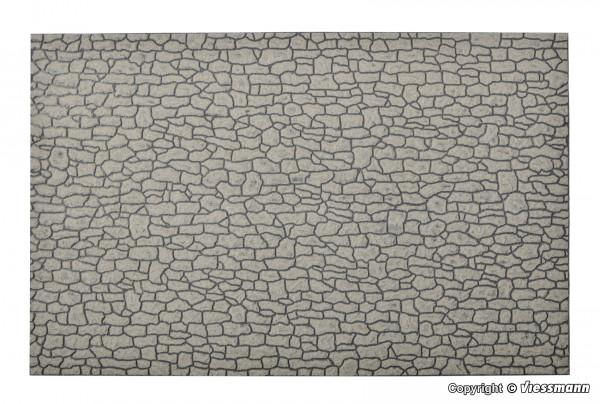 G Mauerplatte Bruchstein aus Steinkunst,