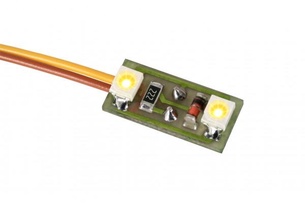 Hausbeleuchtung, 2 LEDs warmweiß