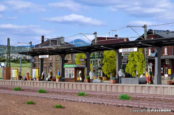 H0 Bahnsteig Seeburg