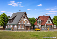 Z Half-timbered houses, 2 pieces