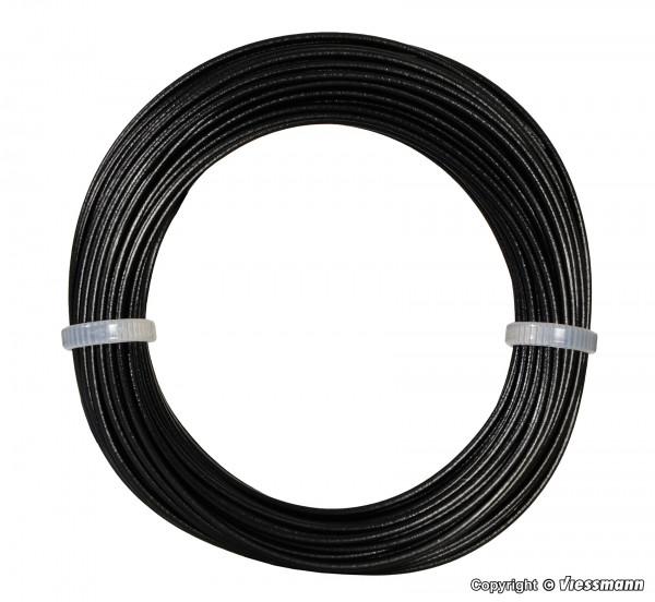 Kabelring 0,14 mm², schwarz, 10 m
